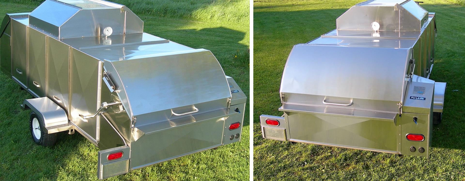 Gorilla Ovens - Rotisserie Broiler Oven